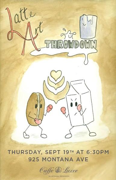 Latte Art Poster