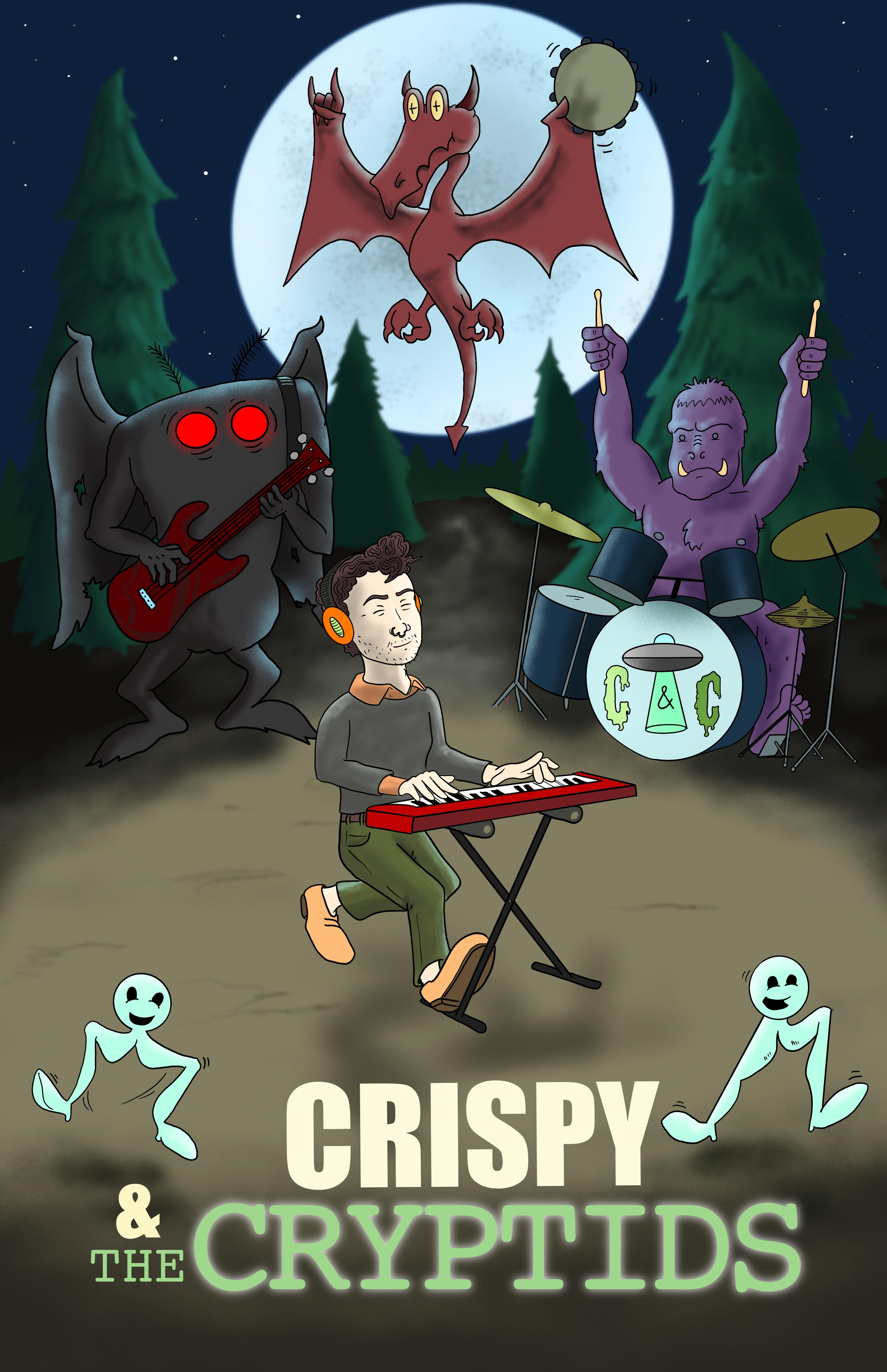 Crispy and the Cryptids